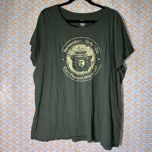 Torrid Smokey the Bear T-Shirt